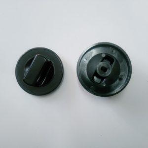 Gombík čierny UNI d70mm otvor d10x8
